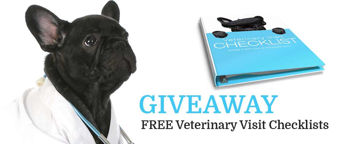 Do you know what questions to ask your veterinarian? Become a Rock Star of Veterinary Visits. Get your FREE Veterinary Visit Checklists and maximize your veterinary visits.